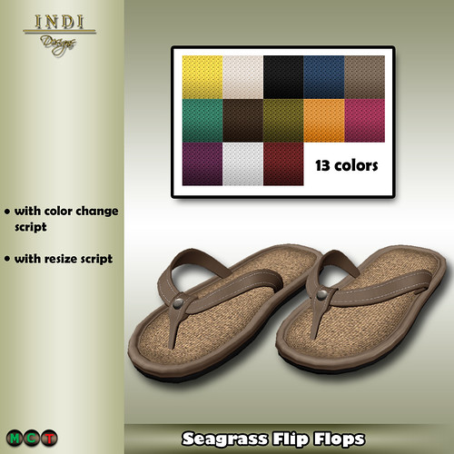 Summer Breeze 2 (Seagrass Flip Flops) m