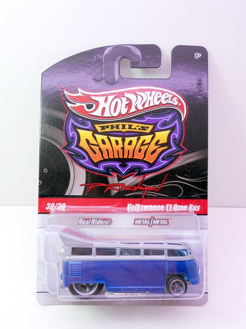 hot wheels phils grage volkswagen T1 Drag bus (1)