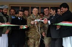Inaugurazione scuola a Niswan