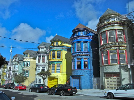 Painted ladies have nothing on these.