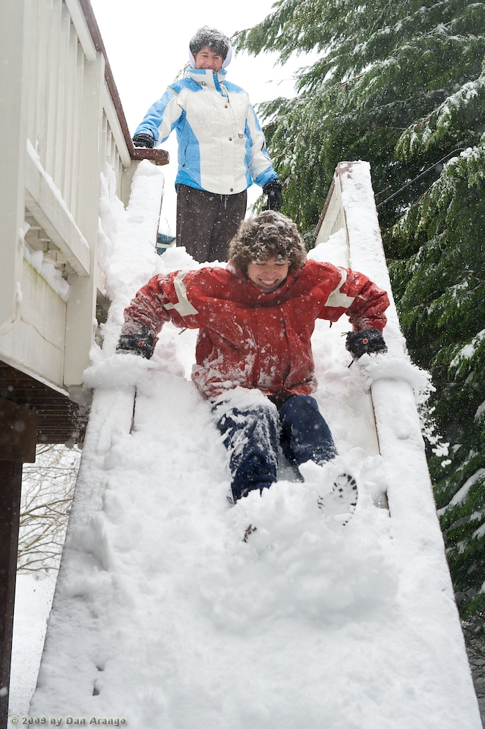 Escape From Snow Deck