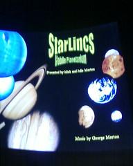 Inside the Peterborough Museum Planetarium