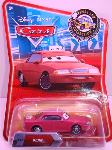 Disney Cars final lap vern the taxi