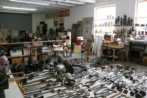 John Udvardy's Studio