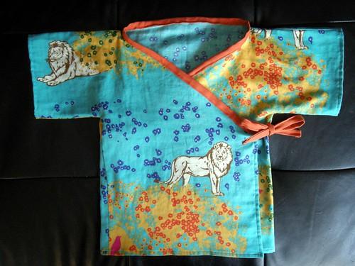 Lion Kimono Front
