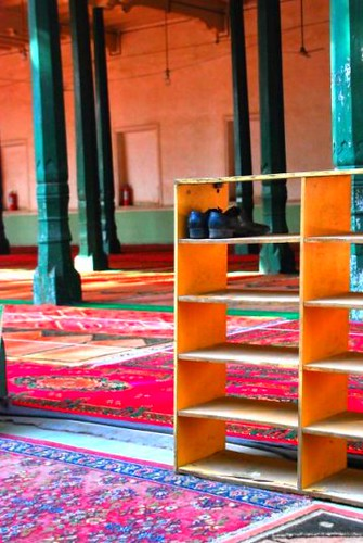 mosque shoes