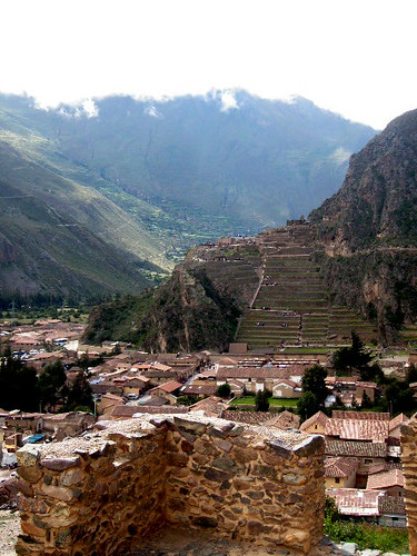New year in Ollantaytambo