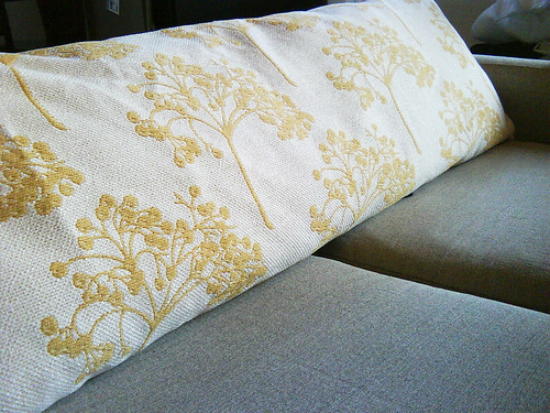Detail of Sofa Pillow