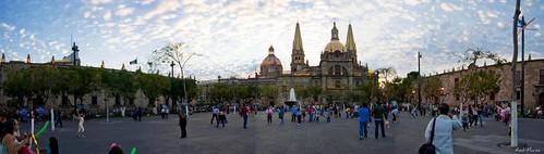 Panoramica Plaza Liberacion