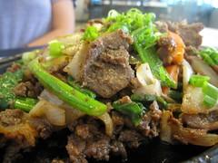 today restaurant - bulgogi up close by foodiebuddha