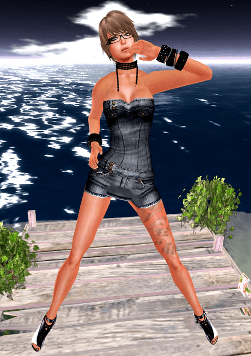 NEW! ::HH:: Hucci Tanya Denim Dress