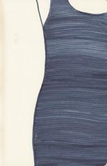 Slinky Blue Dress