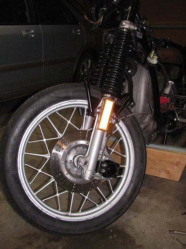 Front Wheel with Disk Brake