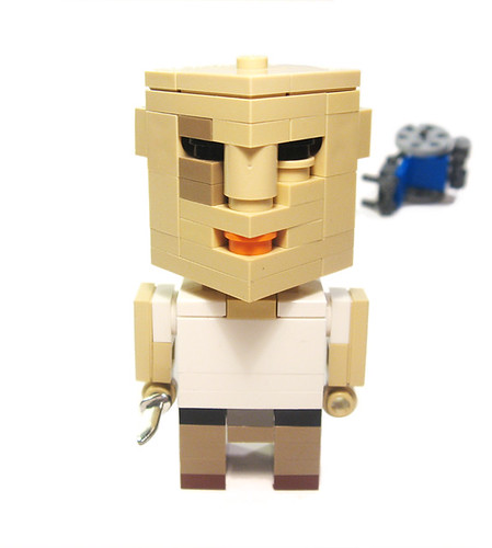LEGO Lost John Locke CubeDude