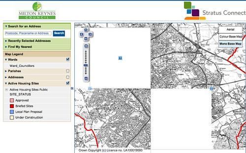 Milton Keynes interactive map