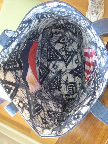 US and Filipino flag pockets