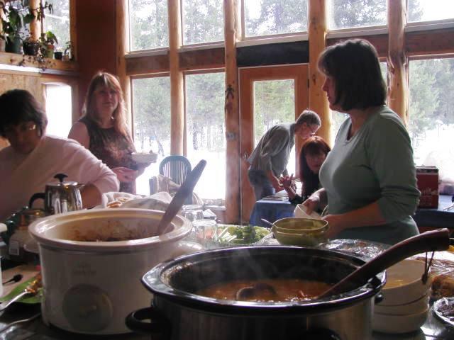 Patricia, Pam, LeAnn, Ann, & Ruth