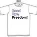 Good Bye, Freedom! Tシャツ
