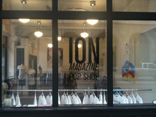 ION Magazine Pop Shop
