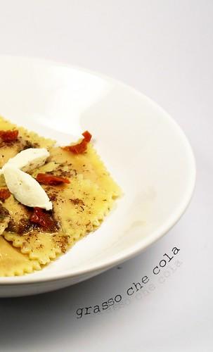 Ravioli Capra e Pomodori Secchi