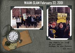 WAAM Slam Institutional Memory