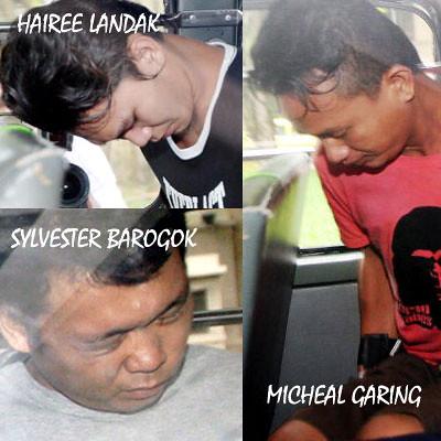 Three of the 7 Kallang Sarawakian Monsters