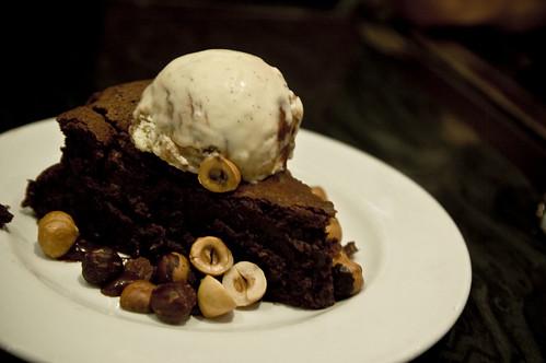 Chocolate cake + Hazel nuts
