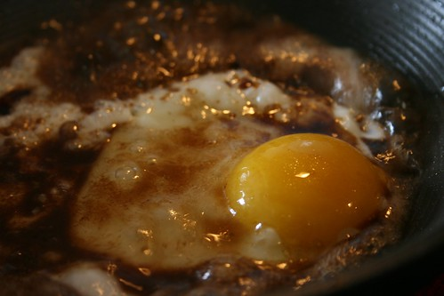 Balsamic Fried Egg