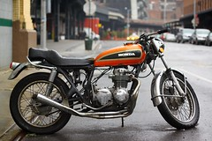 The Retro Honda Motorcycle