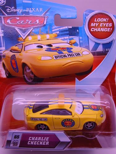 Disney CARS Lenticular  Charlie Checker (1)
