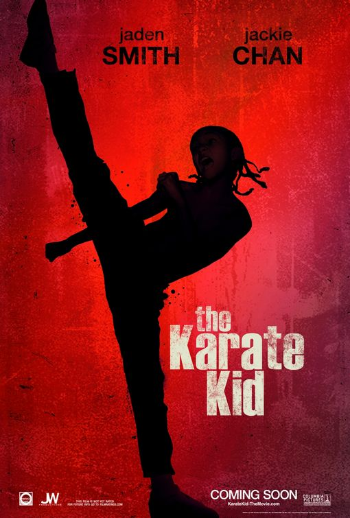 new karate kid poster