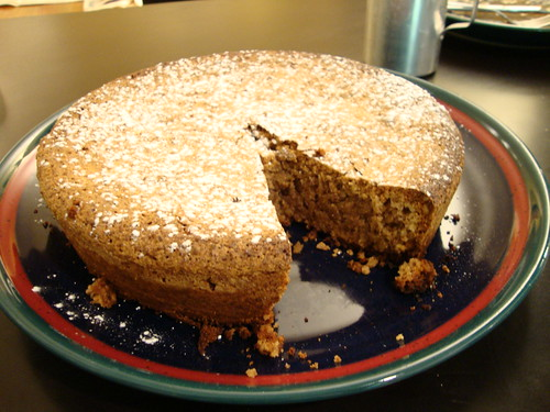 Flourless Walnut Cake