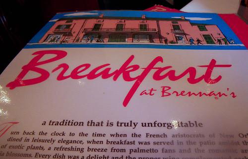 Breakfast at Brennan's
