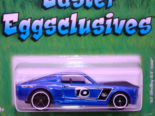 hot wheels easter '67 shelby gt500 (2)