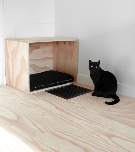 DIY Cat Bed via Hindsvik
