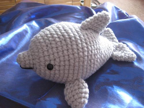 Free Amigurumi Dolphin Pattern : Dolphin amigurumi splash splash u awkward soul designs
