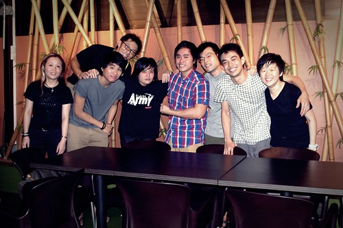Group shot for Wei Yang's farewell :_)