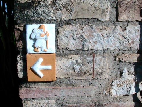 hiking San Gimignano, Italy