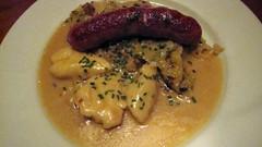 Emmentaler Sausage - Cafe Katja