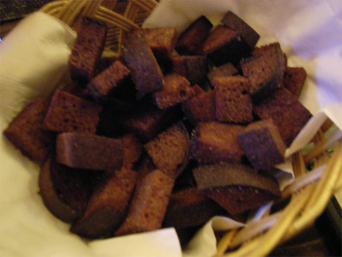 Fried croutons