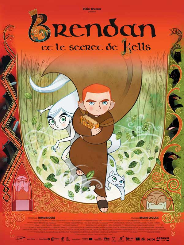Brendan and the secret of Kells
