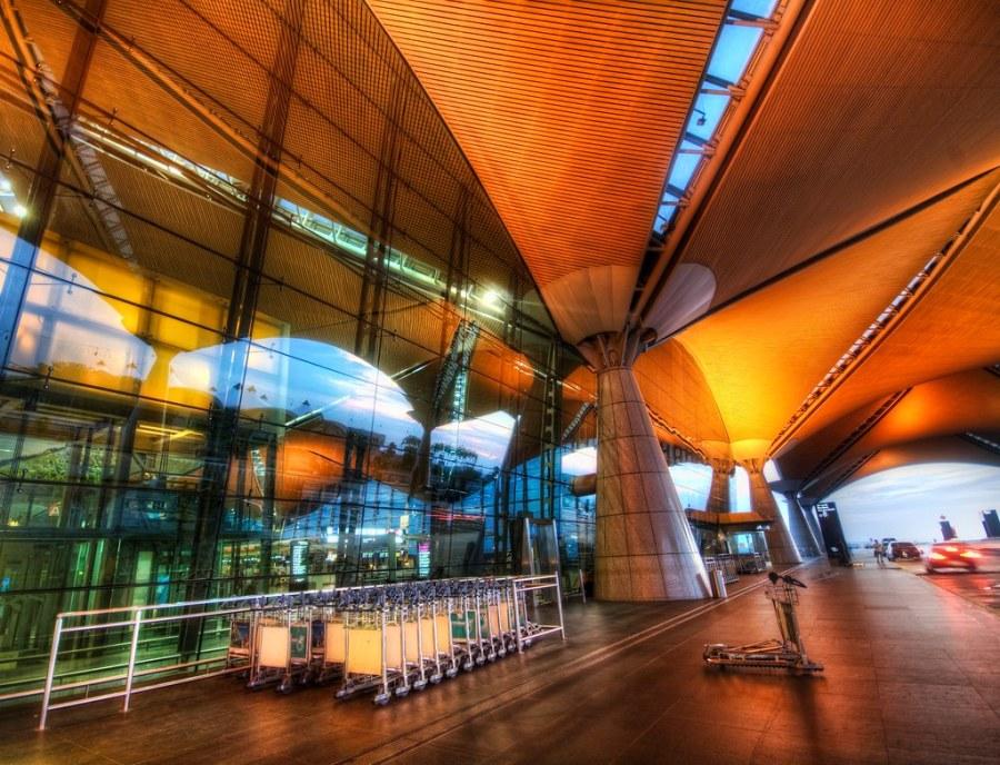The Beautiful Airport in Kuala Lumpur