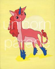 Coral Unicorn