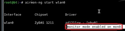 monitor mode