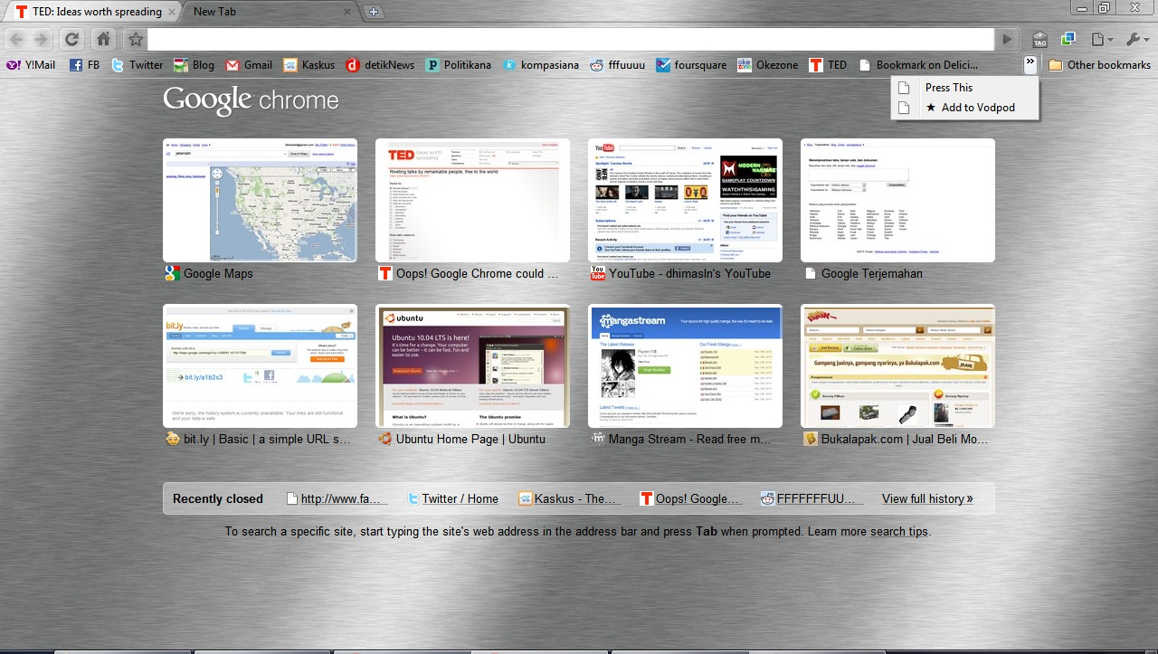 screenshot browser chrome