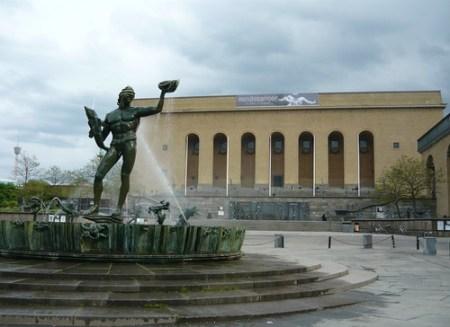 Götaplatsen, Museo d'arte di Göteborg