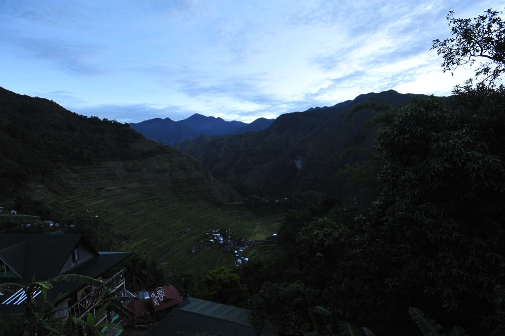 Batad at dawn