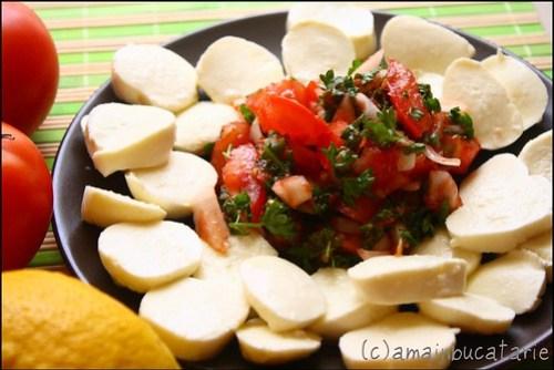 Mozzarela cu salsa de rosii2
