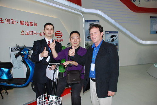 Thumbs up for ZAP Jonway at EVS-25