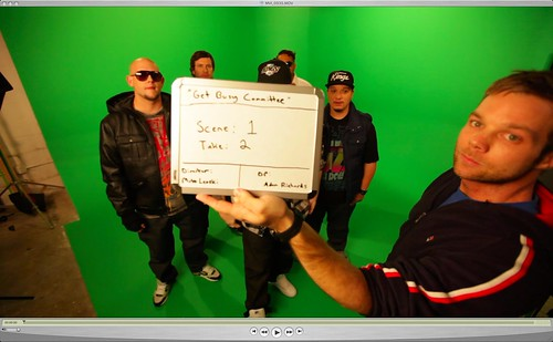 Get Busy Committee Video Shoot Matt Lenski